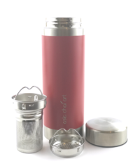 celik-tumbler-kirmizi-acik-tea-detox-water-artisan-cay-tea-tumbler-stainlessstell-tea-filter-tumbler-pratik-cay-demleme-aparati